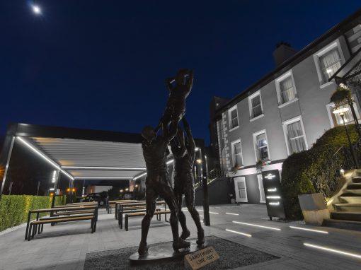 Sandymount Hotel, Dublin, Exterior works
